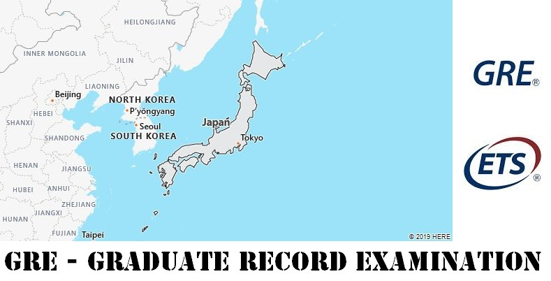 GRE Testing Locations in Japan