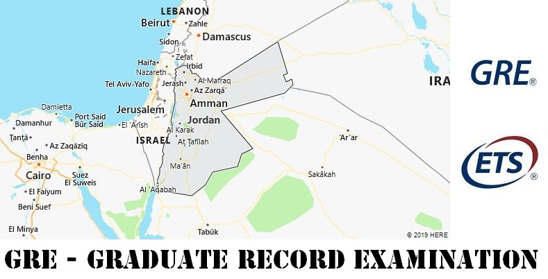 GRE Testing Locations in Jordan