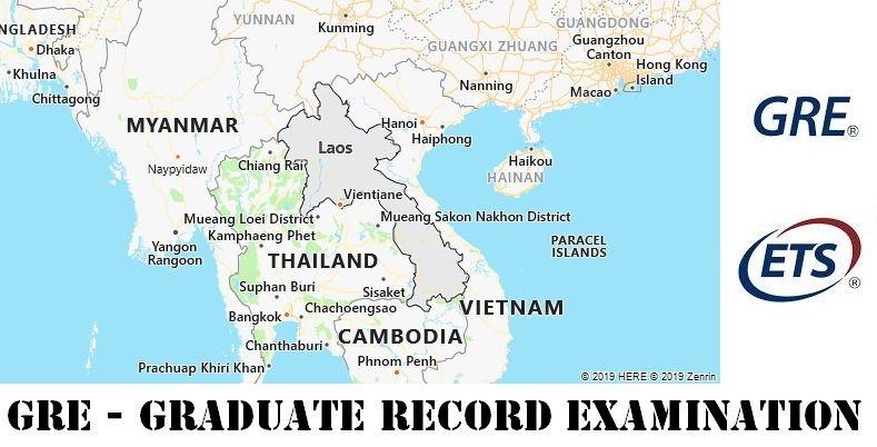 GRE Testing Locations in Laos