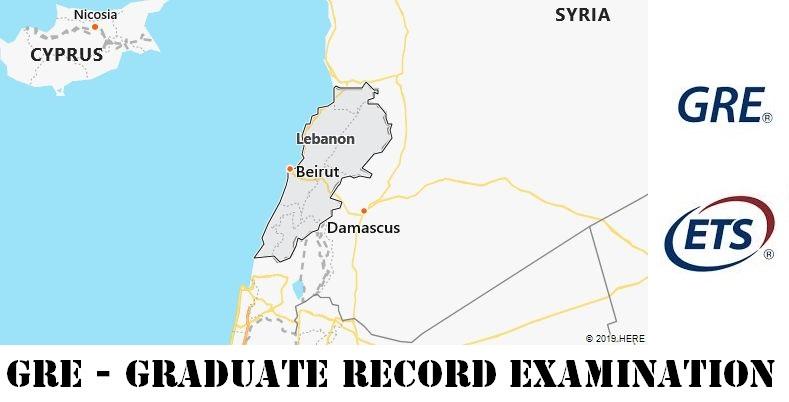 GRE Testing Locations in Lebanon