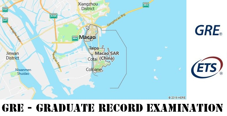 GRE Testing Locations in Macau