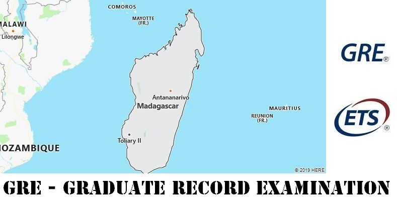 GRE Testing Locations in Madagascar