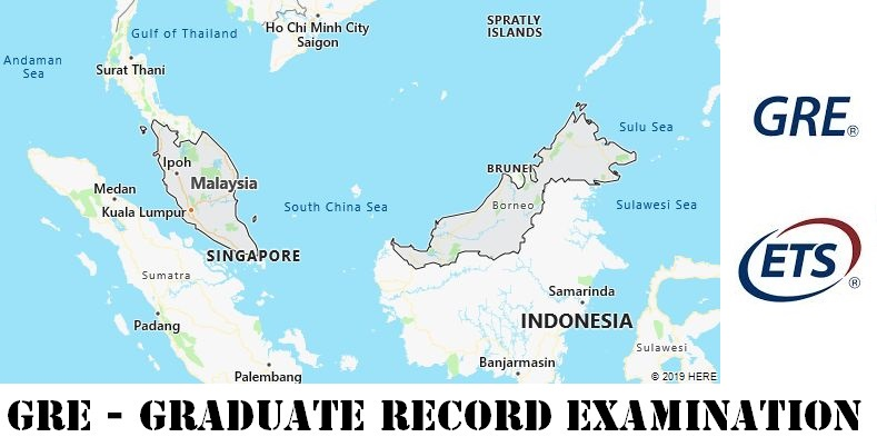 GRE Testing Locations in Malaysia
