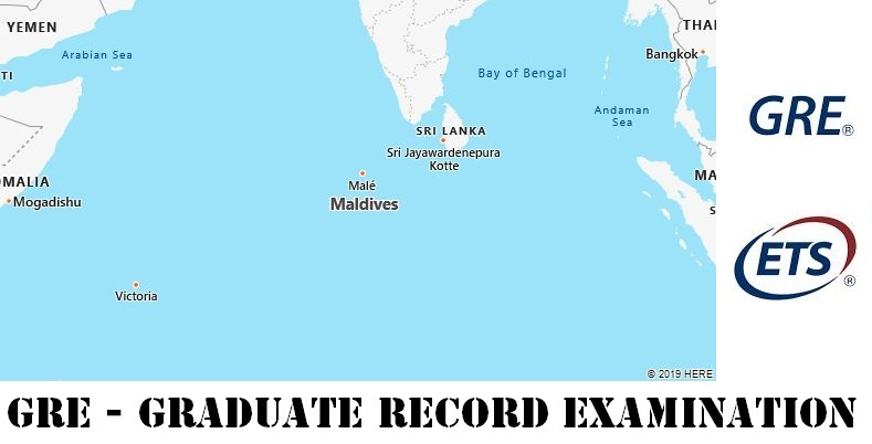 GRE Testing Locations in Maldives