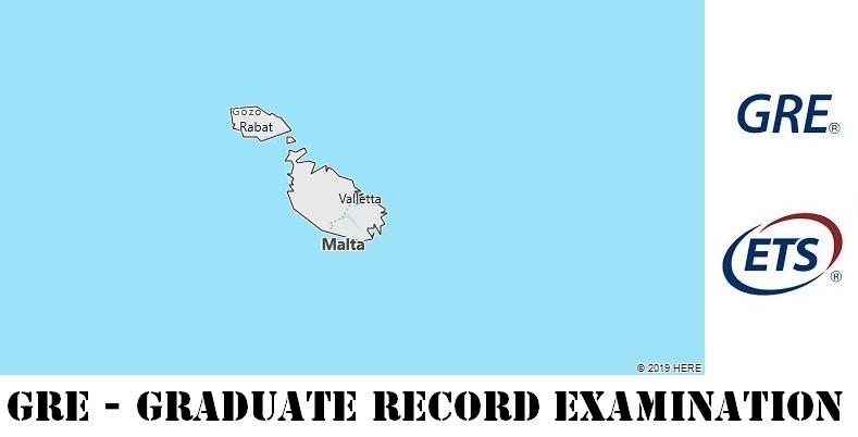 GRE Testing Locations in Malta