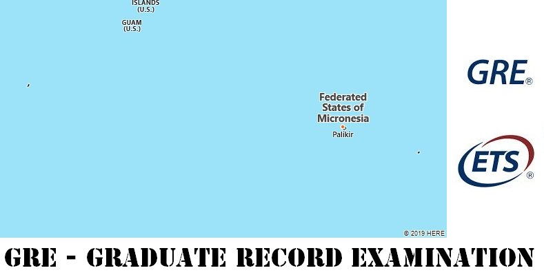 GRE Testing Locations in Micronesia