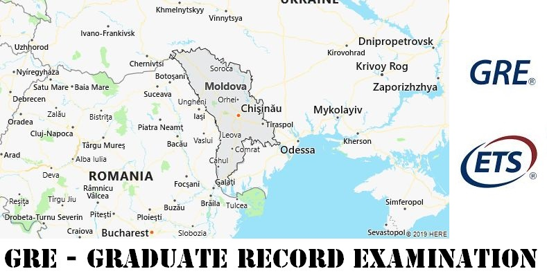 GRE Testing Locations in Moldova