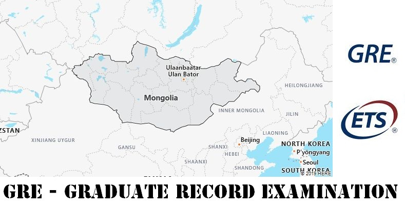 GRE Testing Locations in Mongolia