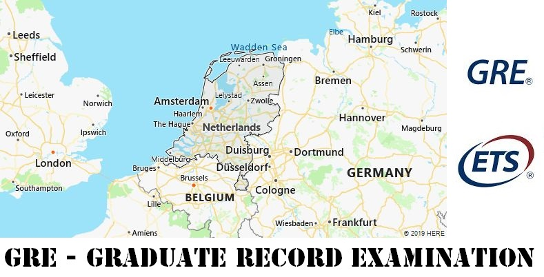 GRE Testing Locations in Netherlands