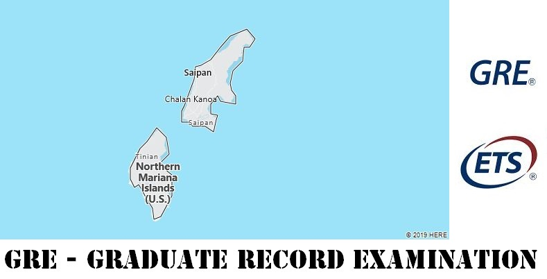 GRE Testing Locations in Northern Mariana Islands