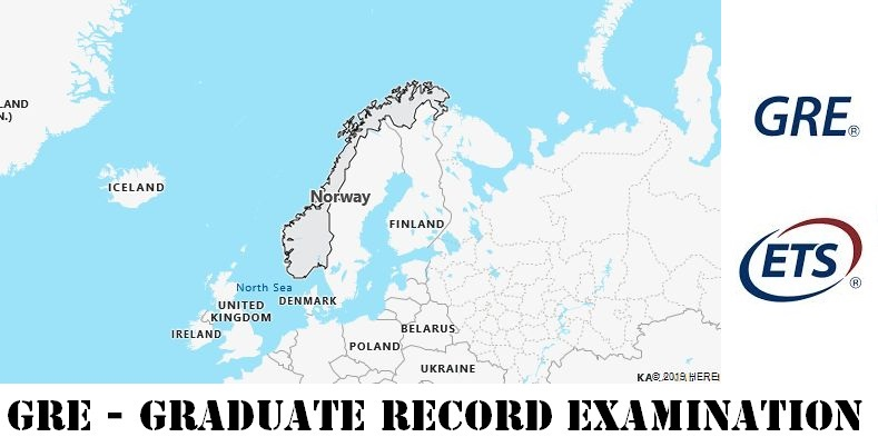 GRE Testing Locations in Norway