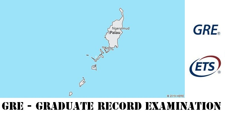 GRE Testing Locations in Palau
