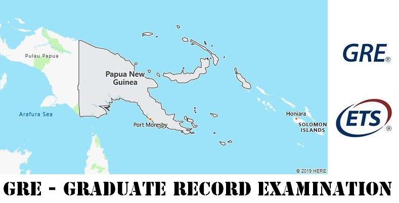 GRE Testing Locations in Papua New Guinea