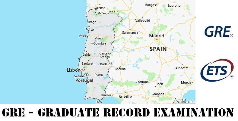 GRE Testing Locations in Portugal