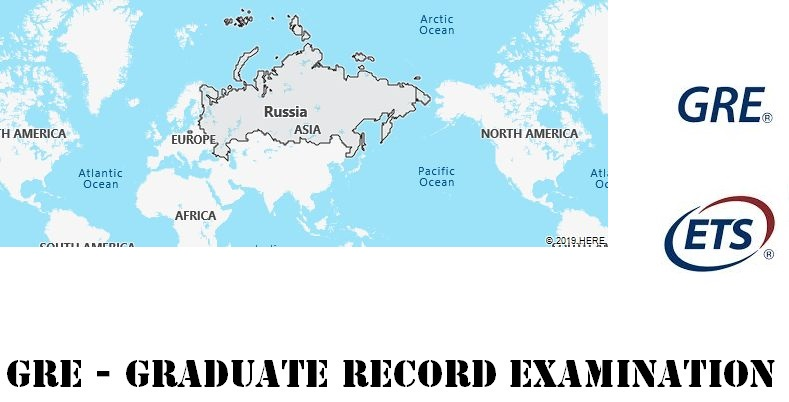 GRE Testing Locations in Russia