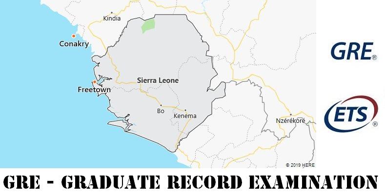 GRE Testing Locations in Sierra Leone