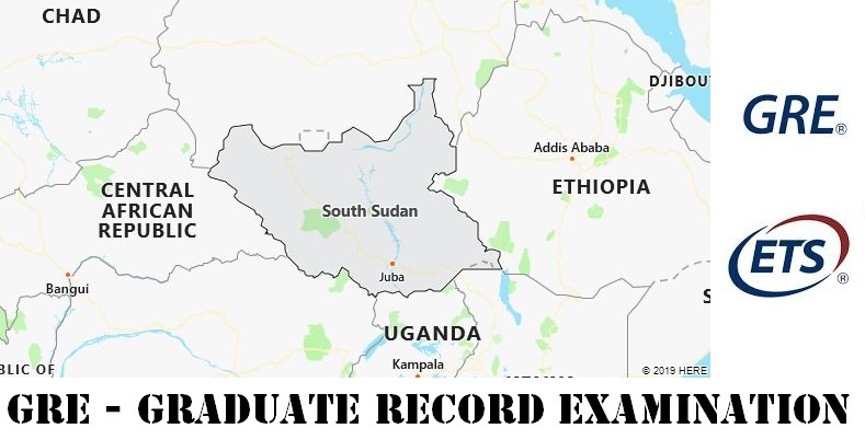 GRE Testing Locations in South Sudan