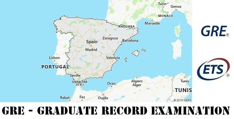 GRE Testing Locations in Spain