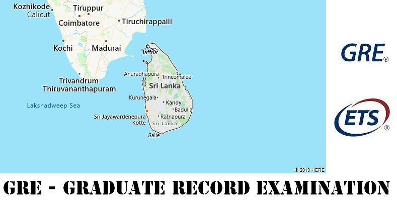 GRE Testing Locations in Sri Lanka
