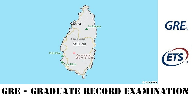 GRE Testing Locations in St. Lucia