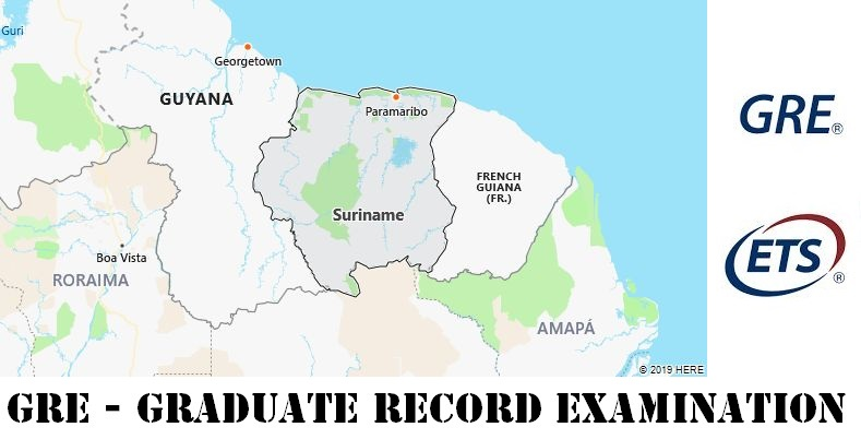 GRE Testing Locations in Suriname