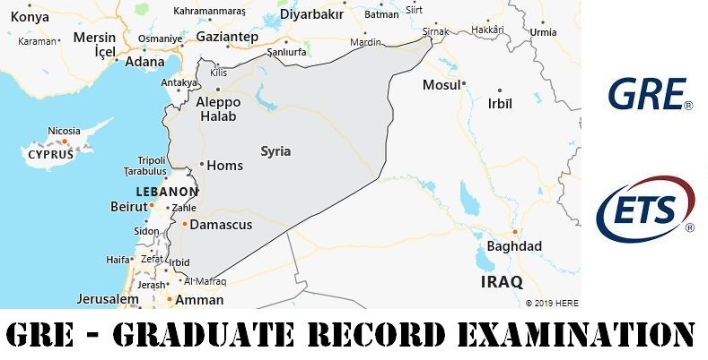 GRE Testing Locations in Syria