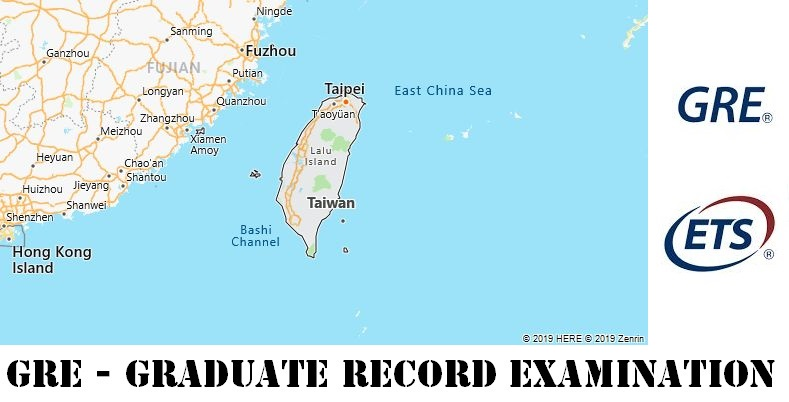 GRE Testing Locations in Taiwan