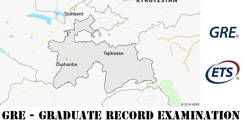 GRE Testing Locations in Tajikistan