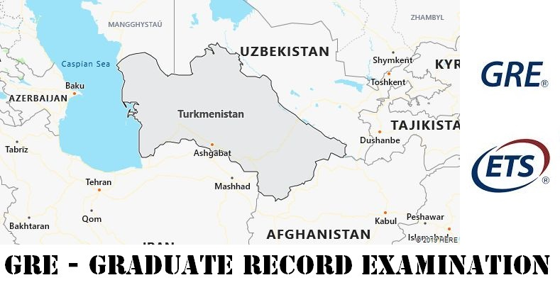 GRE Testing Locations in Turkmenistan