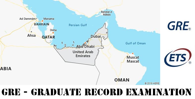 GRE Testing Locations in United Arab Emirates
