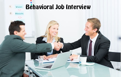 Behavioral Job Interview