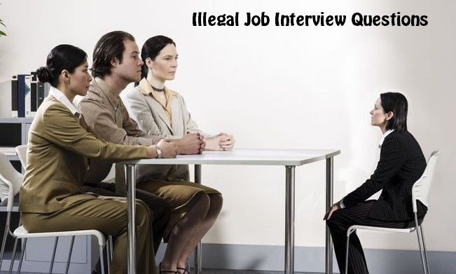 Illegal Job Interview Questions