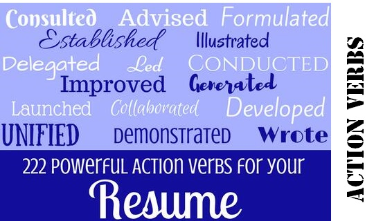 Resume Action Verbs