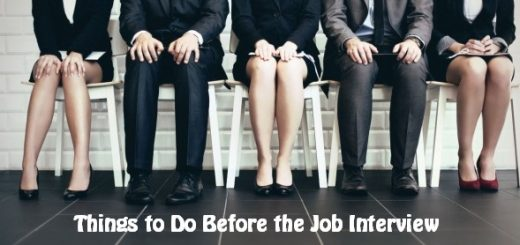 Things to Do Before the Job Interview