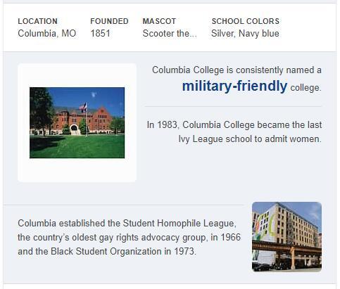 Columbia College Missouri