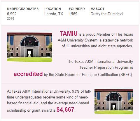 Texas A&M International University History
