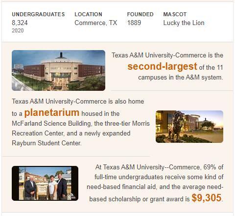 Texas A&M University--Commerce History