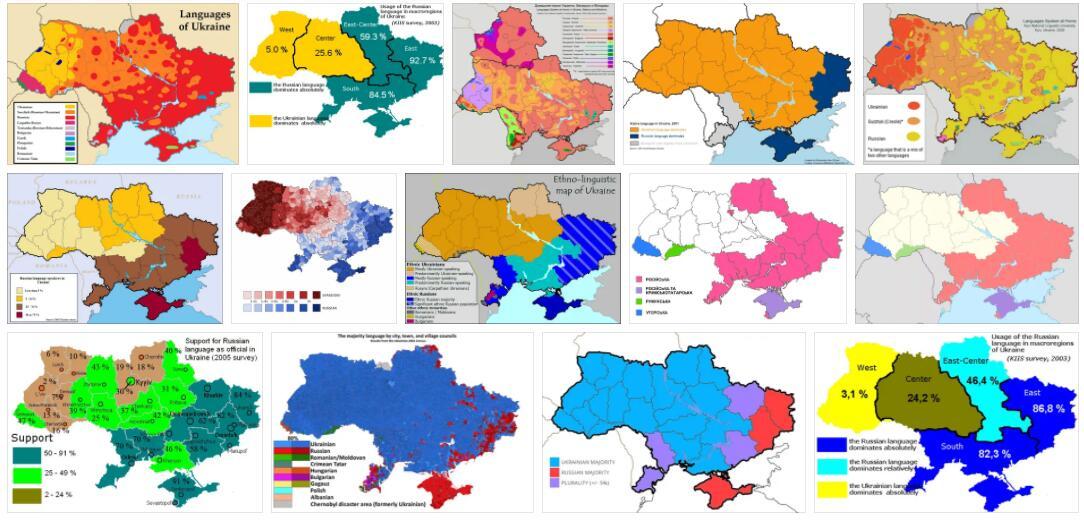 Ukraine Languages
