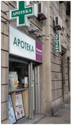 Pharmacy in Belgrade