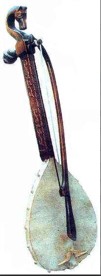 Serbian string instrument Gusle