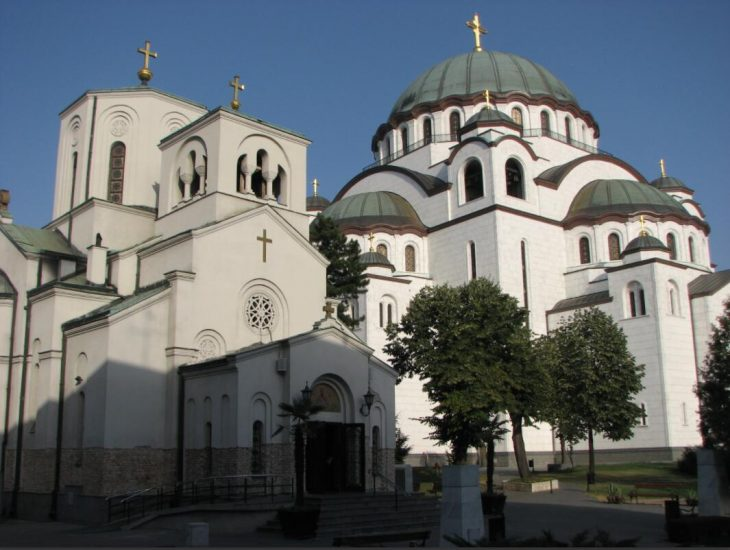 Sveti Sava Orthodox Church in Belgrade