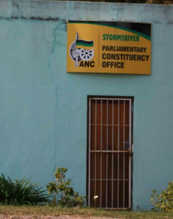 ANC office in a rural settlement