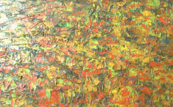 Ablade Glover - Painting in Yellow