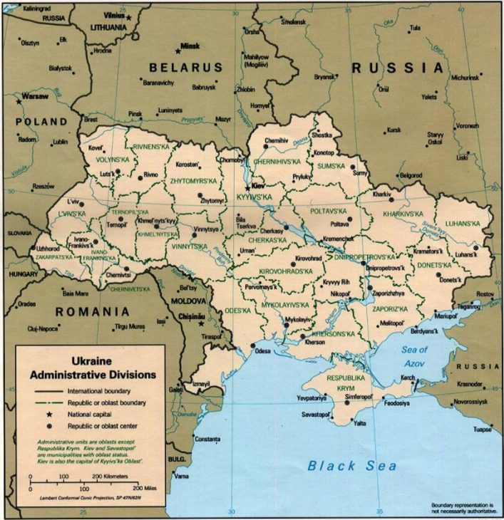 Administrative districts of Ukraine