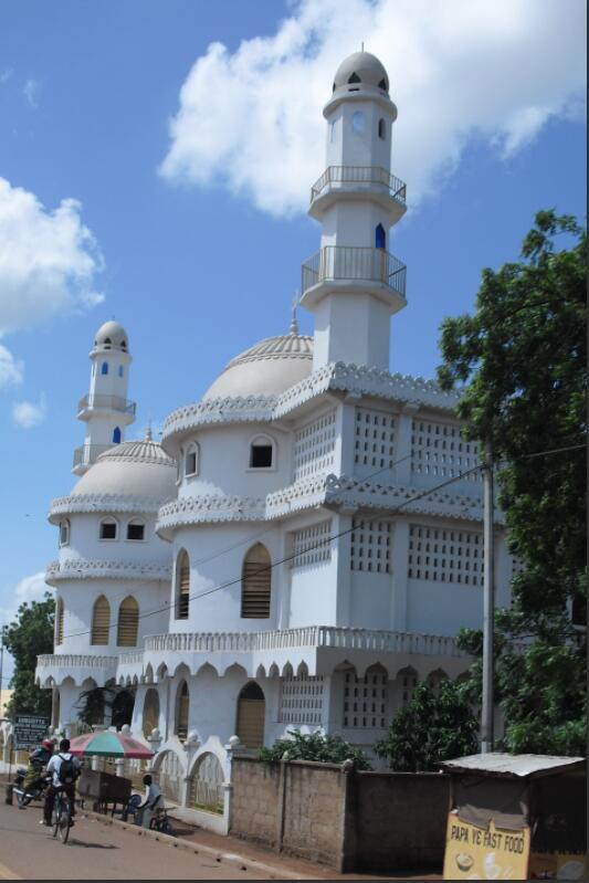 Ahmadiyya Mosque in Tamale