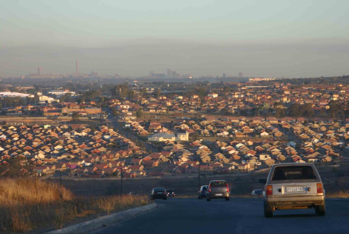 Air pollution over Johannesburg