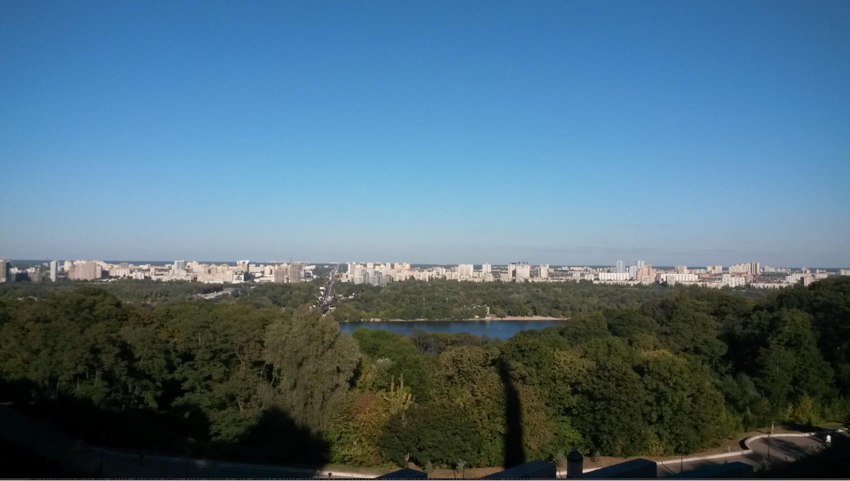 Apartment blocks on the Left Bank, Kyiv