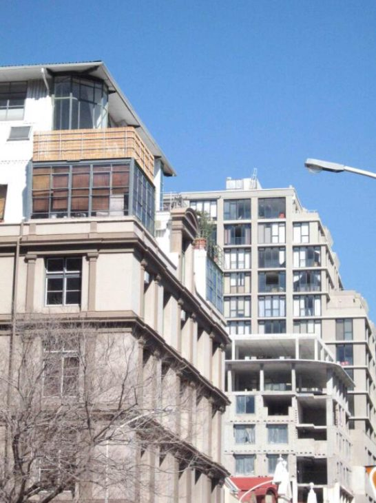 Block of flats in Cape Town