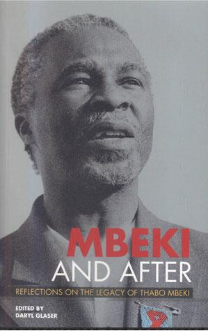 Book cover on the political classification of Thabo Mbeki