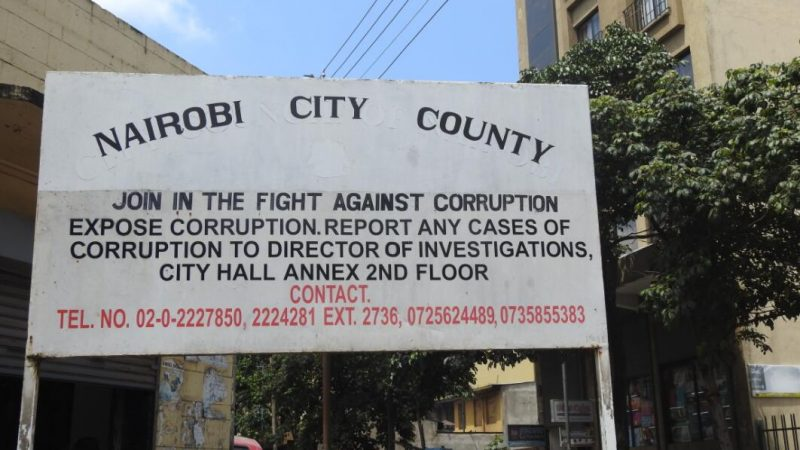 Kenya Corruption